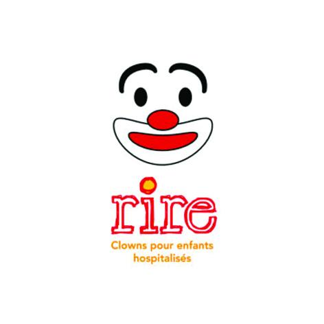 Logo Association RIRE Clowns pour enfants hospitalisés