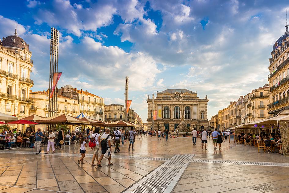 Augefi Mauguio, Place de la Comédie à Montpellier