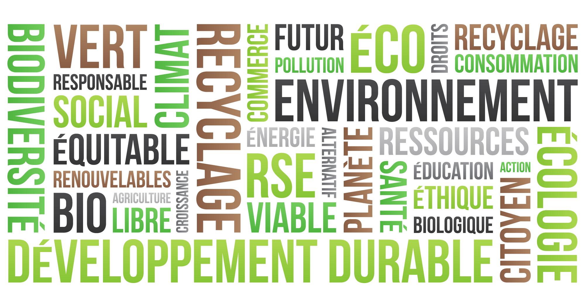 RSE développement durable recyclage environnement