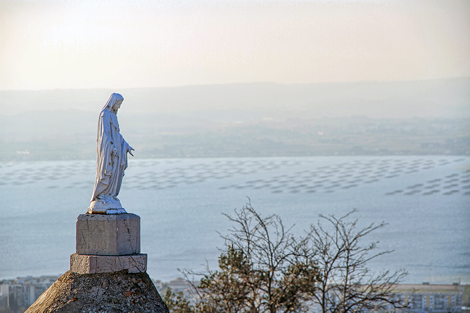 Augefi Sète - Statue Notre Dame de Salette