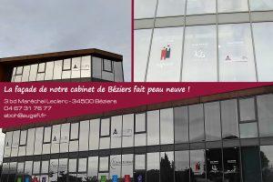 Photomontage façade Béziers
